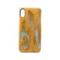 ラスト ゴールド i-Phone用レザーハードカバー iPhone X iPhone8 PLUS対応