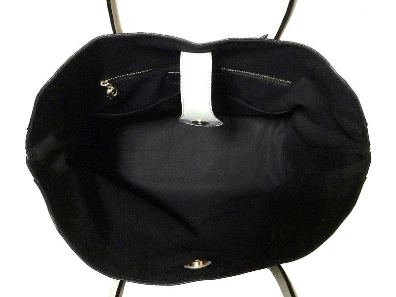画像5: ホワイト バイカラー トートバッグ