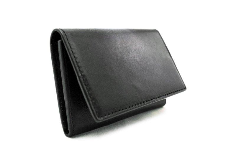 画像3: アクロモ ブラック フラップカードケース