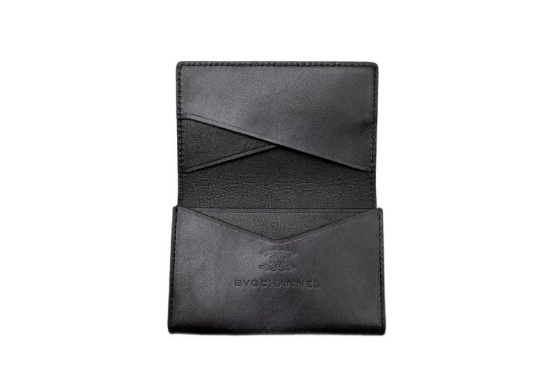 画像4: アクロモ ブラック フラップカードケース