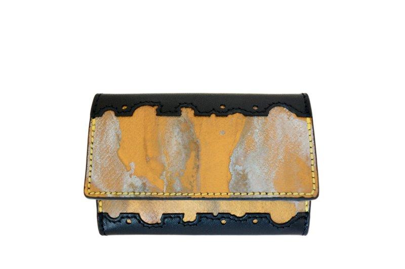 画像1: ラストゴールド 青サビ 5連キーケース