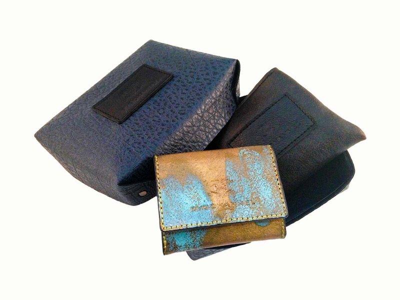 画像5: ラストゴールド 青サビ オープン コインケース